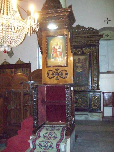 26-Edirnekapı Aya Yorgi Kilisesi Ptriklik Tahtı