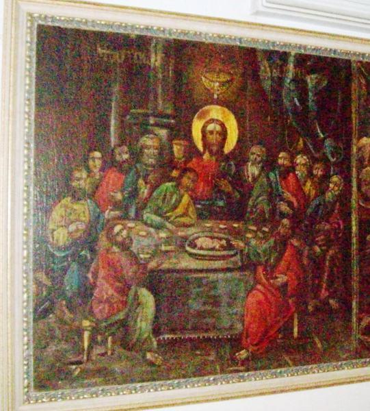 6-Narteks deki son akşam yemeği sahnesi