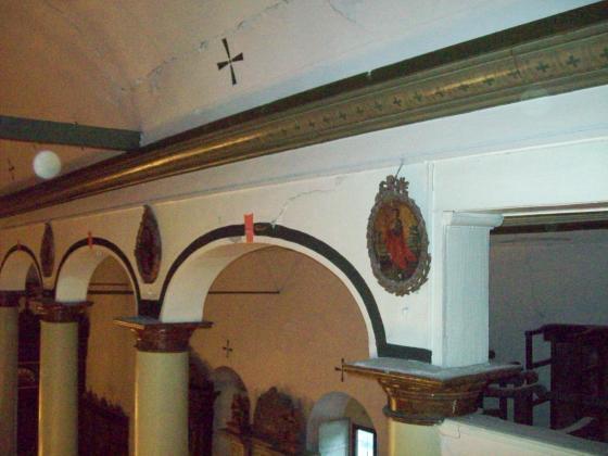 8-Edirnekapı Aya Yorgi Kilisesindeki Basık Kemerle ve Duvarla bitişmesi