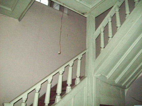 5-Aya Yorgi kilisesi kadınlar galerisine  çıkan merdivenler(Gynekaion)