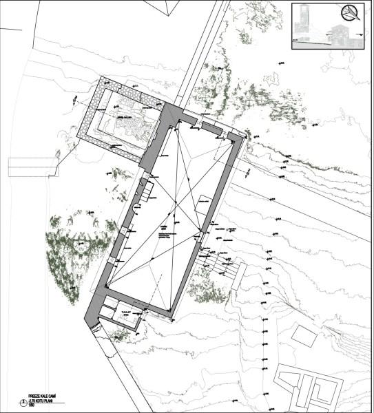 Cami zemin kat planı (şekil 3)