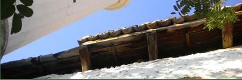 Uygulama öncesinde ahşap çatı strüktüründe çürüme (fotoğraf14)
