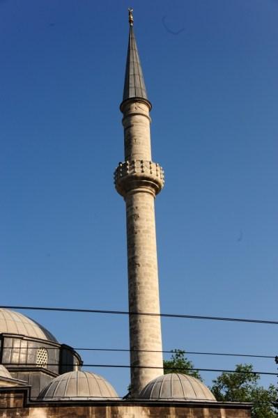 Kare Kaideli Silindirik Gövdeli Minare
