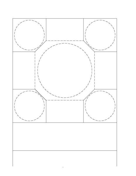 Eyvanlı (Haçvari) Hamam Planı Şeması