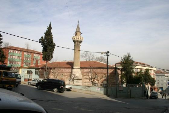 Restitüsyonda örnek alınan Genç Osman Camii minaresi