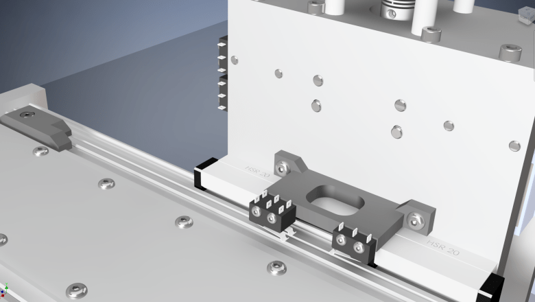 CNC Milling Machine – Limit switches