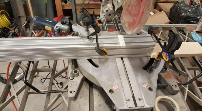 X Axis Beams cuts & Tapping