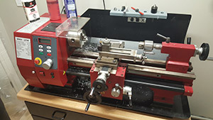 Sieg SC4 Mini-Lathe! (and a new project)