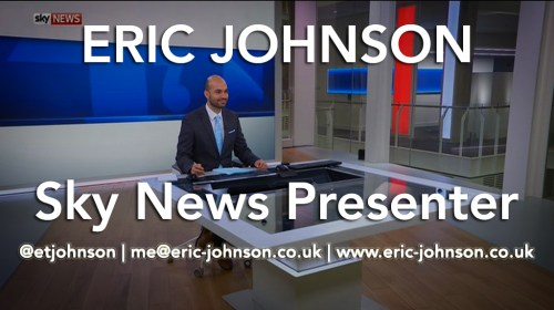 Eric Johnson Sky News Showreel