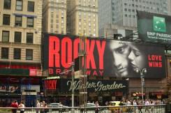 Rocky von außen