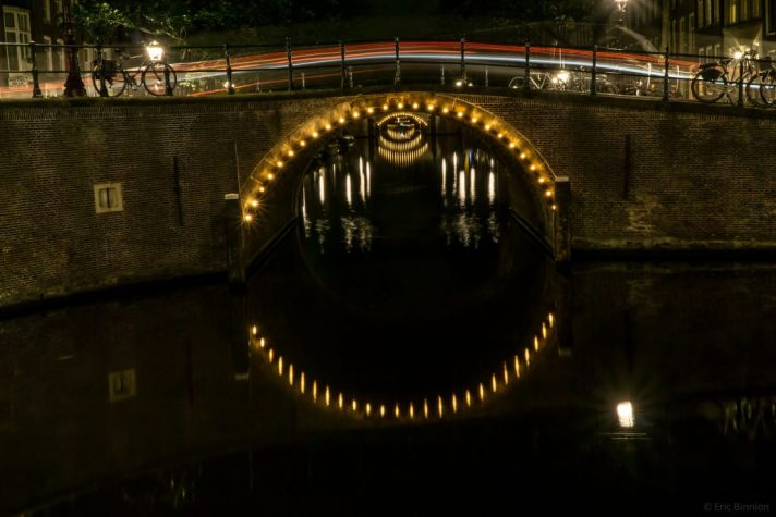 Amsterdam Canal Bridge