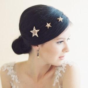 SIRIUS BRIDAL STAR BOBBY HAIR PINS NO.  2023
