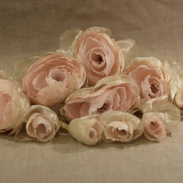 bridal hair pins, wedding accessories, silk flowers, bridal hair accessories