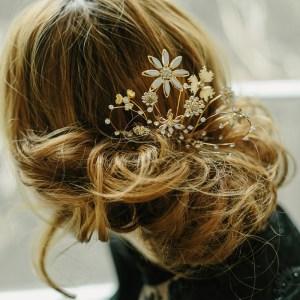 bridal hair adornments