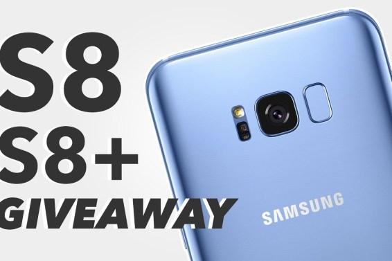 Galaxy S8 & Galaxy S8+: Giveaway (INTERNATIONAL)