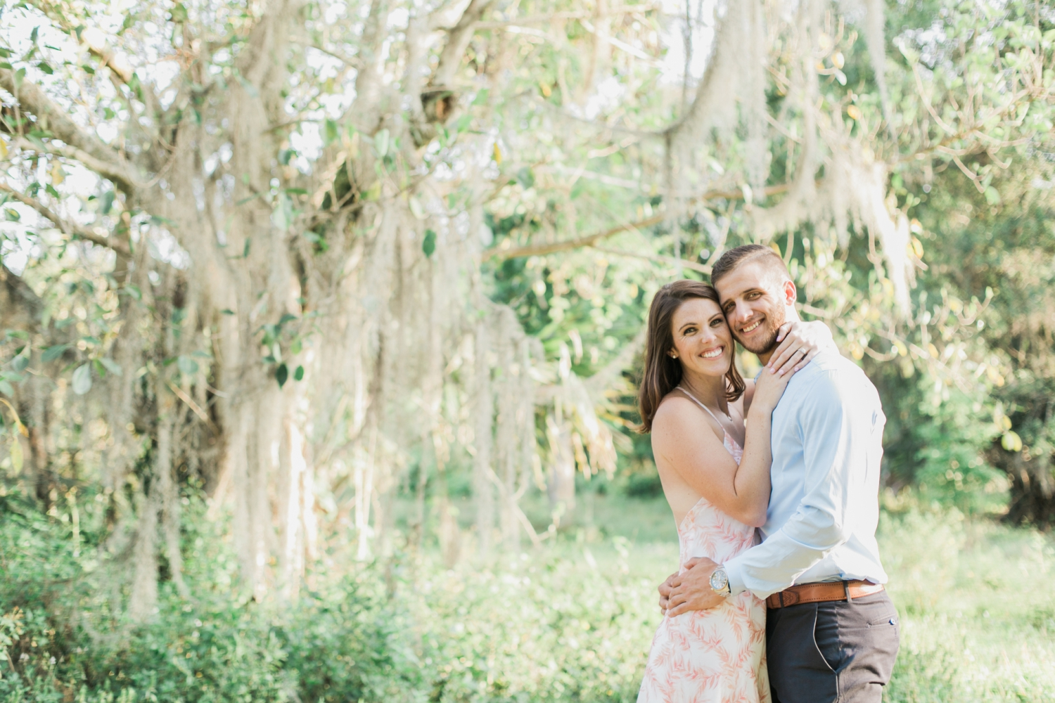 riverbend south florida engagement photo