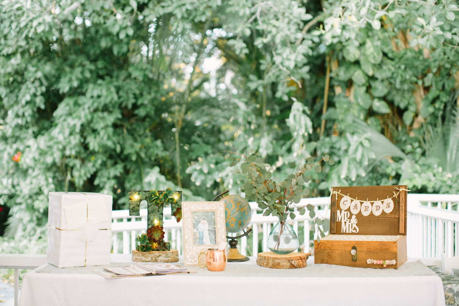 boho south florida wedding