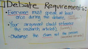 Debate Requirements