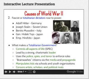 Totalitarian Dicators