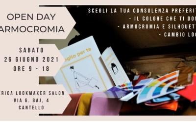 Open Day Armocromia con Special promo da 150€