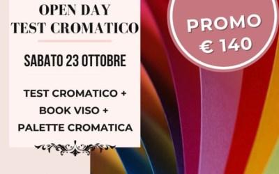 Open Day Test Cromatico Sabato 23 Ottobre