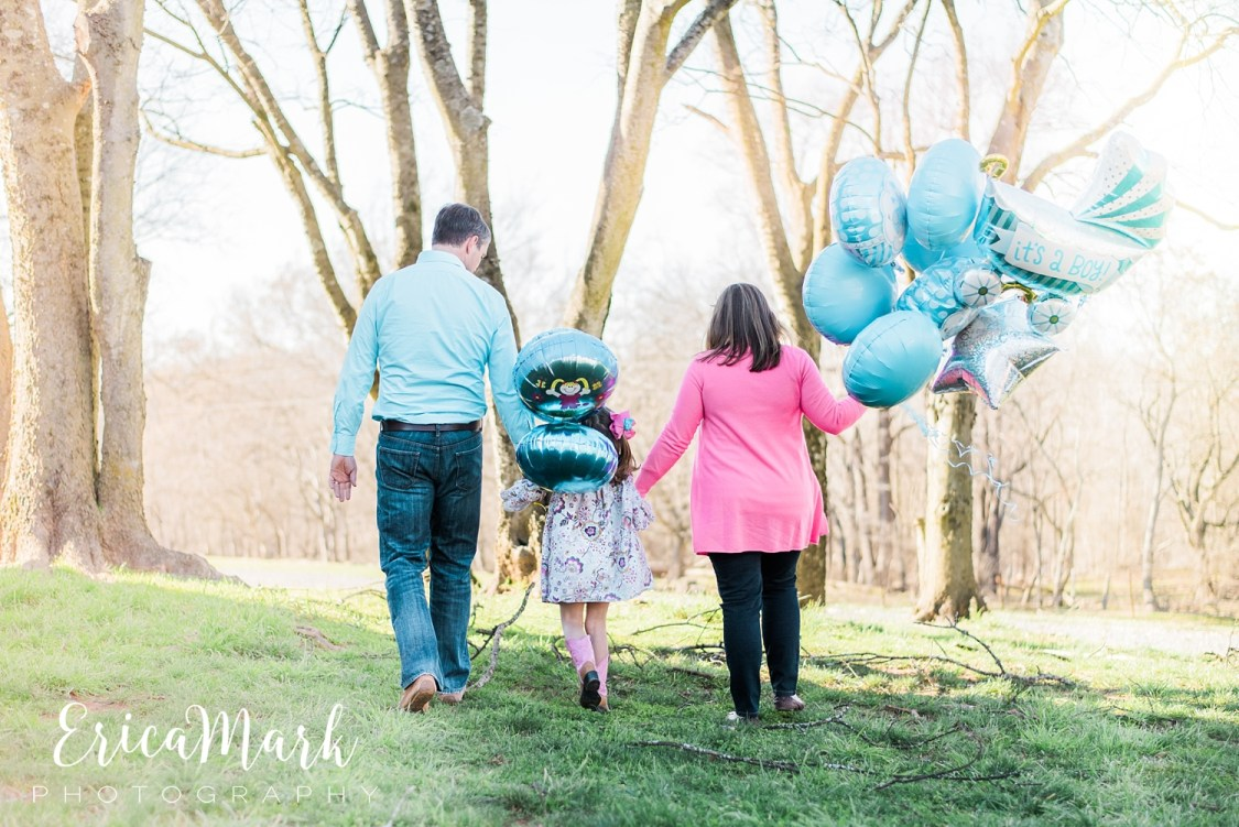 Charlotte NC Photographer Gender Reveal | Charlotte NC Photography Gender Reveal