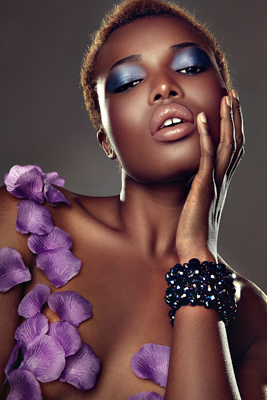 Valentines Africa beauty editorial 2