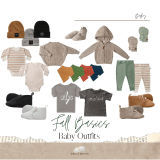 Fall Basics Baby Outfits