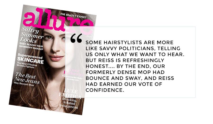 Erica Reiss Allure Magazine Review