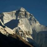 De Noordkant van de Mount Everest