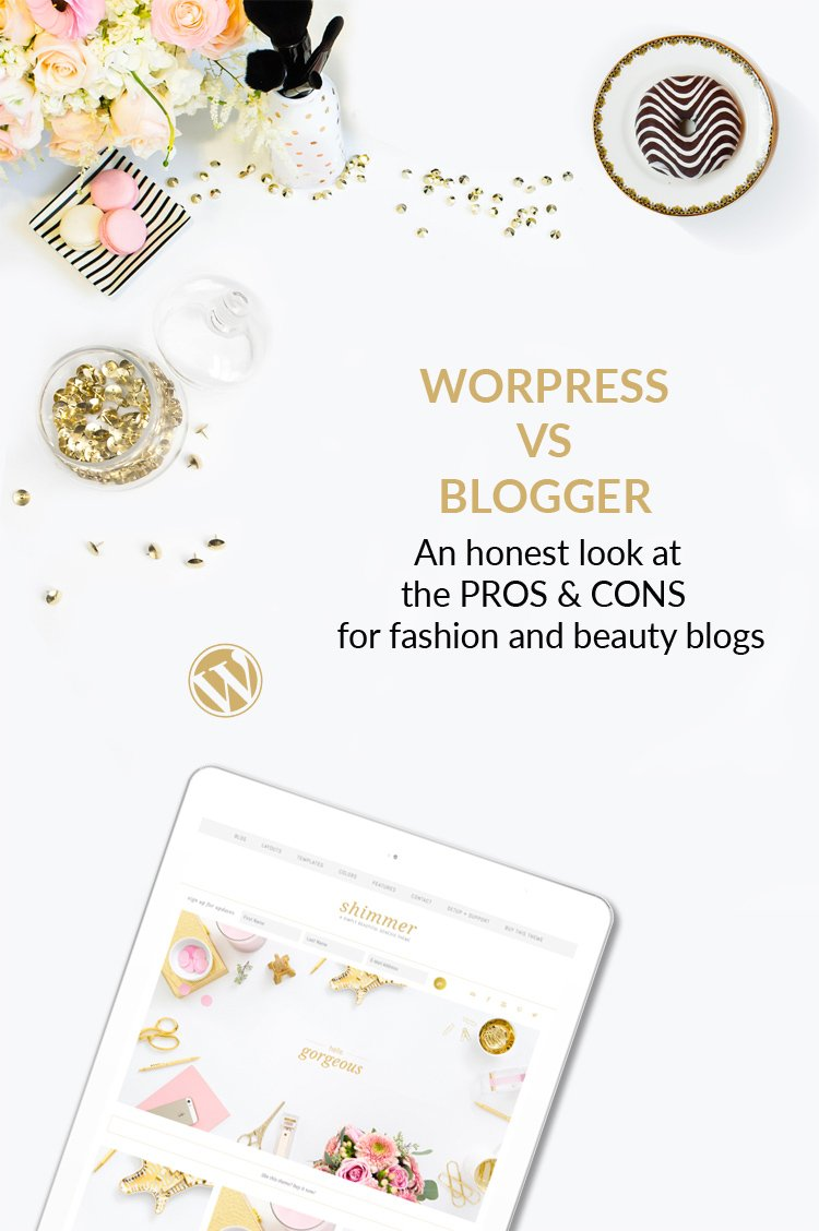 Blogger vs WordPress. La lista completa dei Pro & Contro