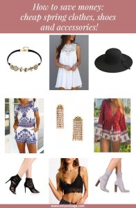 How to save money: cheap spring clothes, shoes and accessories