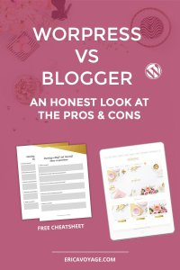 Blogger vs WordPress are the two most popular blogging platforms on the web. Here's a list of the pros and cons of each platform