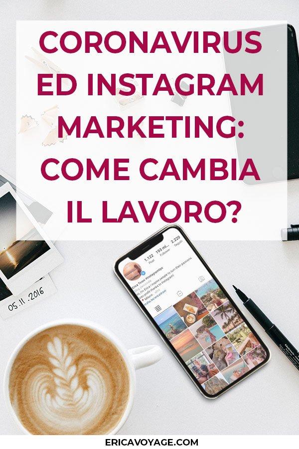 La prima domanda che ti faccio è: Come stai affrontando questi momenti complicati? Come riesci a portare avanti il tuo lavoro di Instagram Marketing ai tempi del Coronavirus? Nel nostro Paese, soprattutto nel Nord Italia, la situazione è ancora molto difficile! Spero che nel tuo le cose vadano molto meglio perchè qui è dura.