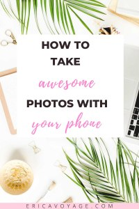 I decided to do research to find out how I could make my mobile photo look professional. In this blog I give you the tips that I found most useful.