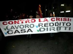 contro la crisi
