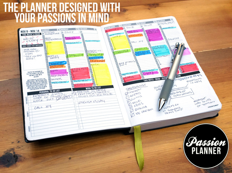 Need a Planner that Fits Your Passions for 2015?