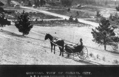 Carmel California in 1895