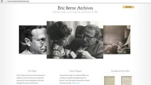 Eric Berne Archives Web Page