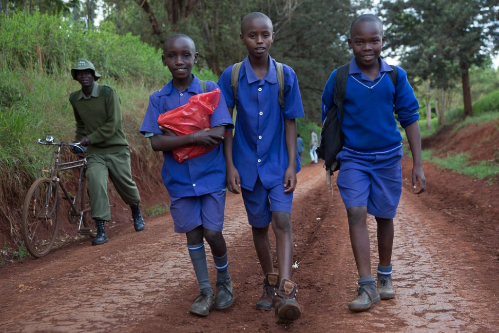 School boys, Thika, Kenya