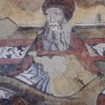 Fresco in de kerk Santa Maria dei Greci