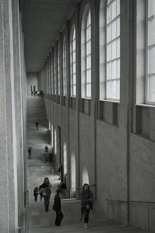 Trappenhuis in de Alte Pinakothek in München