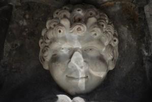 Fontein op het Quattro Canti (detail), Palermo