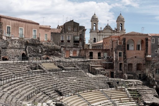 Romeins theater van Catania