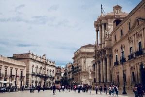 Siracuse - Piazza Duomo