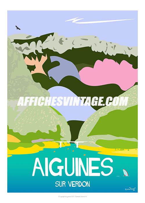aiguines-gorges
