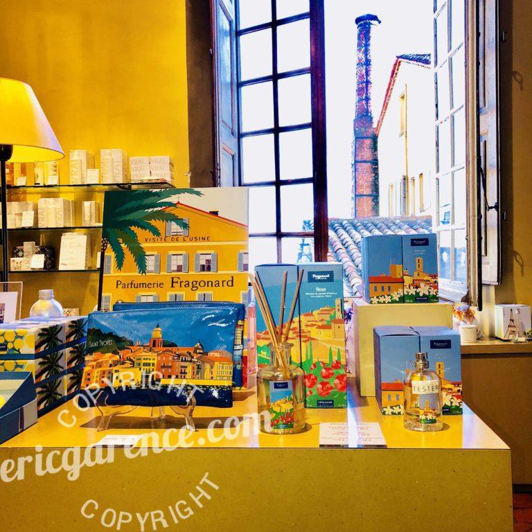 Musée Fragonard Eric Garence Cote d'azur French Riviera Collection Parfum Cadeau Eau