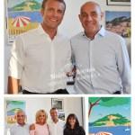 Affiche Fort de Brégançon Macron Arizzi Garence Poster Côte d'azur French Riviera Elysée Bormes les mimosas Galerie Artwork minimalist
