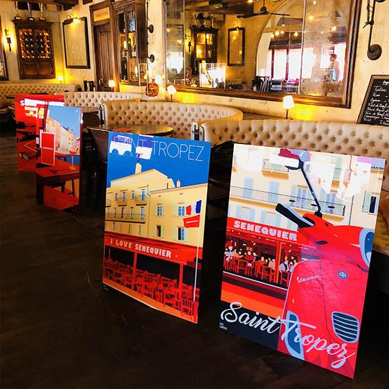 Senequier Eric Garence Saint Tropez Exclusive Collection