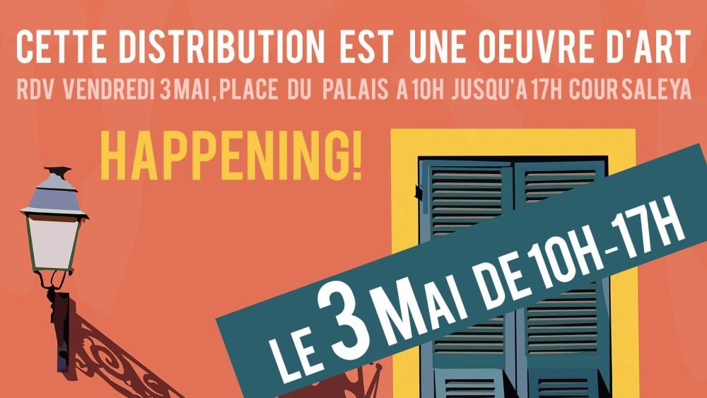 Eric Garence Happeing 3 Mai - Vieux Nice